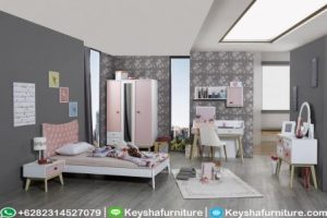 Kamar Set Anak Model Retro