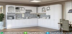 Kitchen Set Modern Warna Putih