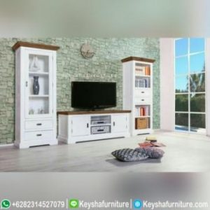Set Bufet Tv Minimalis Putih