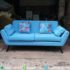Sofa Retro Warna Pastel