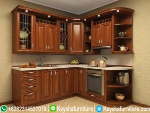 Kitchen Set Kayu Jati Terbaru